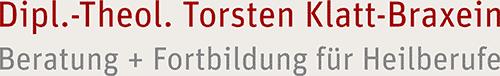 Logo Torsten Klatt-Braxein - Beratung + Fortbildung für Heilberufe